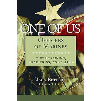 Een van de Amerikaanse officieren van mariniershun opleiding tradities en waarden door Ruppert & Jack