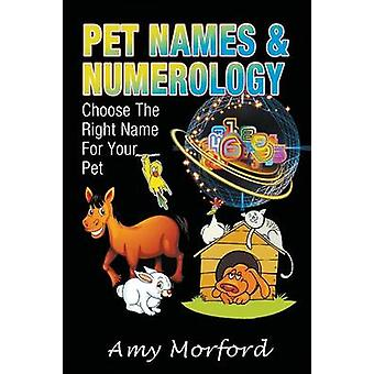 Pet Names and Numerology Choose the Right Name for Your Pet by Morford & Amy