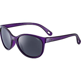 Cebe Ella Kids Sunglasses (Shiny Violet Frame 1500 Grey PC Blue Light Lens)