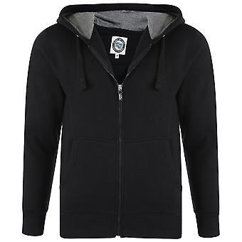 Kam Jeanswear Mens Fleece Zip Thru Hoody