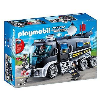 Truck met Light and Sound City Action Playmobil 9360 (15 pc's)