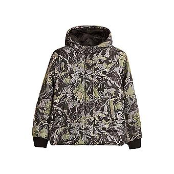 Esprit Girls' Quilted Jacket With Print And Hood