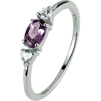 ז'אק למאן-טבעת מכסף עם אחלמה-SE-R113D56-רוחב הטבעת: 56