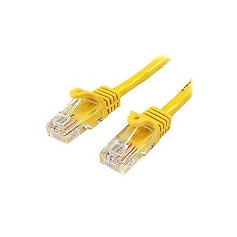 Startech 5M Yellow Cat5E Ethernet Patch Cable With Snagless Rj45 Connectors