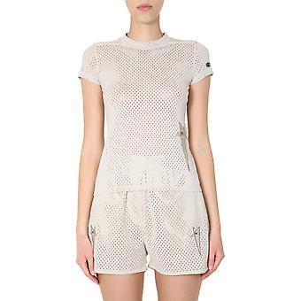 Rick Owens Cw20s001711368608 Women's White Polyester T-shirt