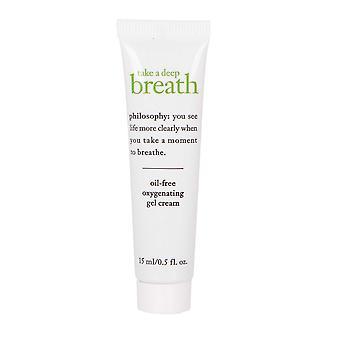 Philosophy Take a Deep Breath Oil Free Oxygenating Gel Cream 15ml