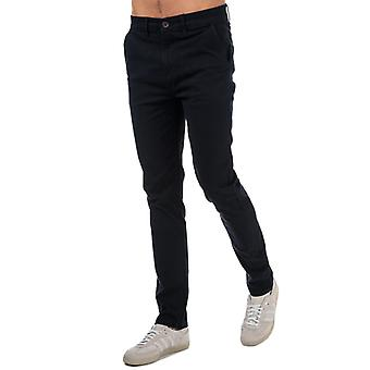Men's Crosshatch Black Label Kelso Chino Pant in Blue