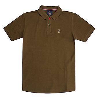 Boy's Luke 1977 Junior Williams Polo Shirt in Green