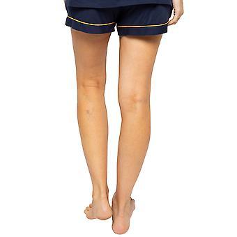Cyberjammies Alexa 4511 Frauen's Navy Blue Pyjama Short