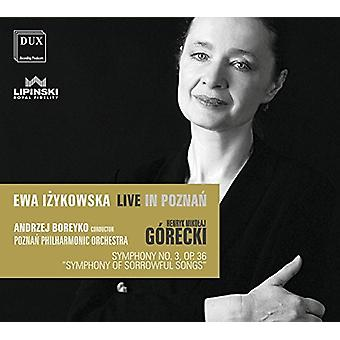 Gorecki / Poznan Philharmonic Orchestra - Symphony 3 [CD] USA import