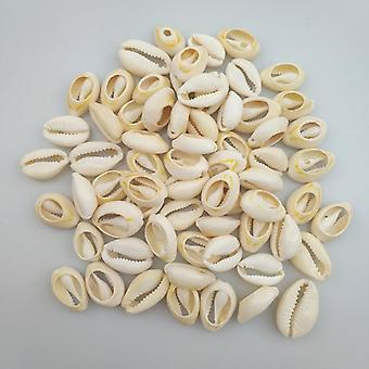 50pcs 1.6 2cm Small Bulk Cut Beach Sea Natural Shell Conch Beads Cowry Cowrie