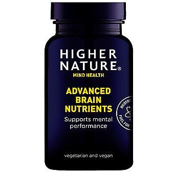Higher Nature Advanced Brain Nutrients Vegetable Capsules 90 (QAB090)