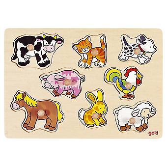 Goki Stabbing Farm Animals