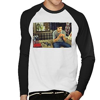 American Pie Jims Protection Men's Baseball Long Sleeved T-Shirt