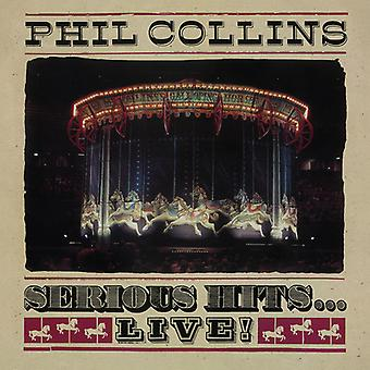 Serious Hits Live [CD] USA import