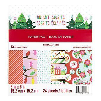 Craft Smith Bright Spirits 6x6 Inch Paper Pad