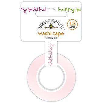 Doodlebug Design Birthday Girl Washi Tape