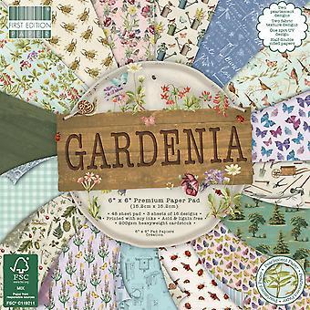 Première édition Gardenia 6x6 Inch Paper Pad