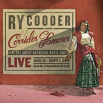Ry Cooder & Corridos Famosos - Live in San Francisco [CD] USA import
