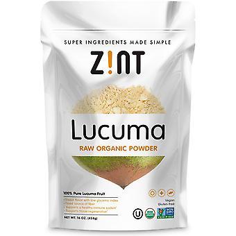 Zint, Lucuma, Raw Organic Powder, 16 oz (454 g)