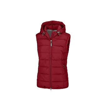 Pikeur Zena Womens Quilted Waistcoat - Pomegranate