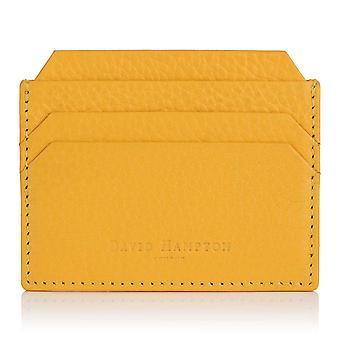 Aztec Yellow Richmond Leather Slim Six Card Holder
