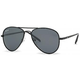Sunglasses Unisex polarized matt black (P66406)