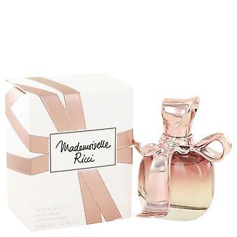 Mademoiselle ricci eau de parfum spray door nina ricci 50 ml