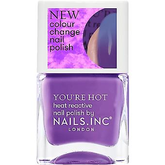 Nails inc You're Hot - Colour Change Nail Polish Collection - One Hot Minute 14ml