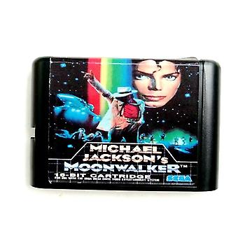 Micheal Jackson Moonwalker 16-bit Md Memory-card For Sega Mega Drive 2 For Sega Genesis Megadrive