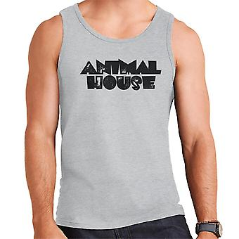 Animal House Black Logo Men's Vest