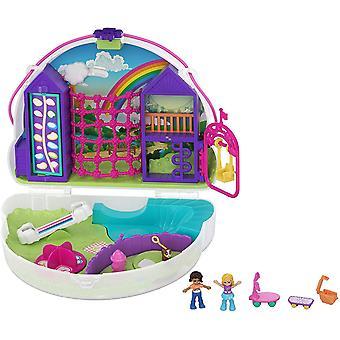 Polly Pocket Rainbow Dream Purse Playset