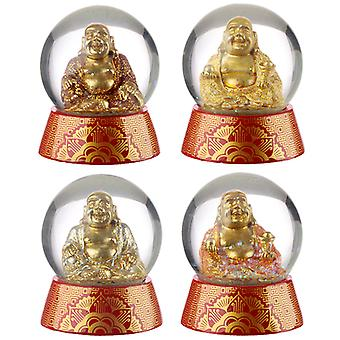 Collectable Buddha Snow Globe Waterball X 1 Pack