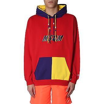 Msgm 2640mm7219529918 Mænd's Flerfarvet bomulds sweatshirt