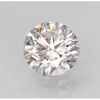 Zertifiziert 0.48 Carat E VS1 Round Brilliant Enhanced Natural Loose Diamond 4.95mm