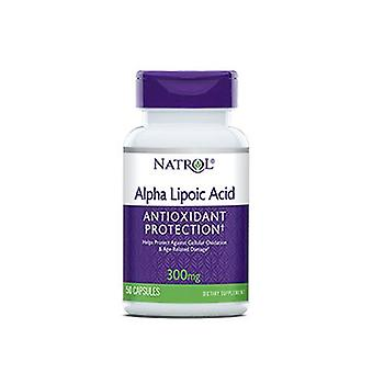 Natrol Alpha Lipoic Acid, 300 MG, 50 Caps