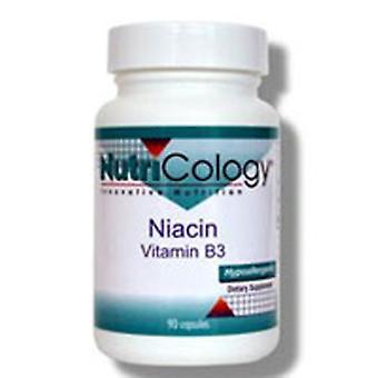 Nutricologie/ Allergie Onderzoeksgroep Niacine vitamine B3, 90 Caps