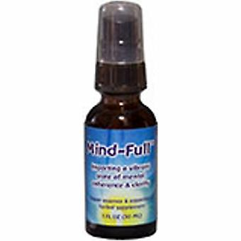 Flower Essence Services Mind-Full Spray, 1 oz