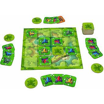 Flip Over Frog Board Game