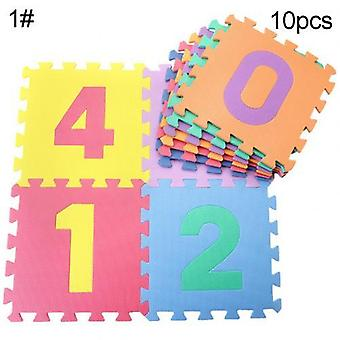 Foam English Alphabet Number Pattern Play Mat For Baby, Puzzle Toy, Yoga Letter