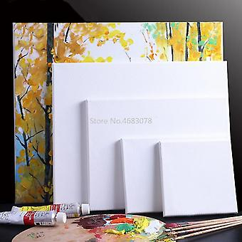 White Blank Square Artist Canvas For Canvas Oil Painting Wooden Frame Oil