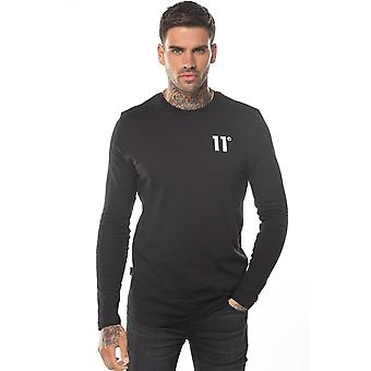 Eleven Degrees 11 Degrees 11d-007-001 Core Long Sleeve Top - Black
