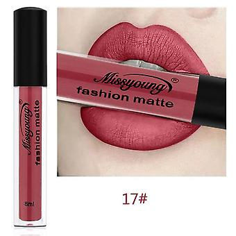 Lip Makeup Lipstick Pencil- Waterproof Long Lasting, Tint Sexy Rose Red Matte