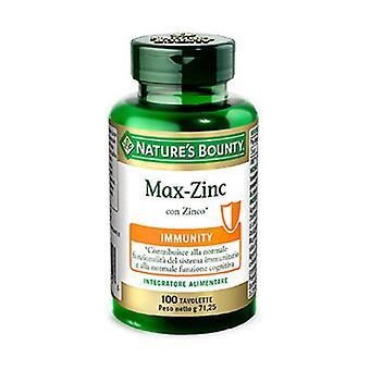 Max-zinc 100 tablets