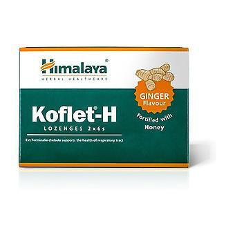 Koflet-H (Ginger Flavor) 12 pellets