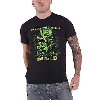 Avenged Sevenfold Mens T Shirt schwarz En Vie Hail to the King Official