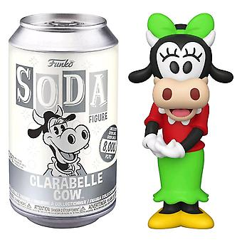 Mickey Mouse Clarabelle Cow Vinyl Soda Chase Ships 1 in 6