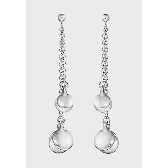 Kalevala Earrings Women's Lucky Pearl Silver 2669950T