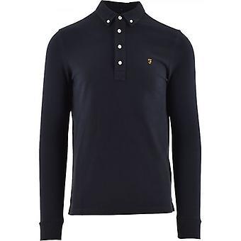 Farah Navy Ricky Polo Shirt