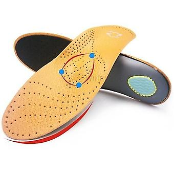 High-quality Leather Orthotic Insole/women